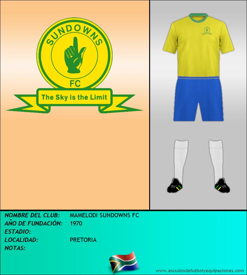 Escudo de MAMELODI SUNDOWNS FC
