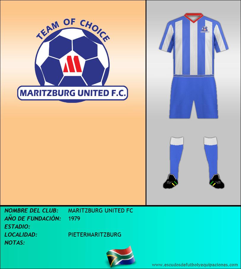 Escudo de MARITZBURG UNITED FC