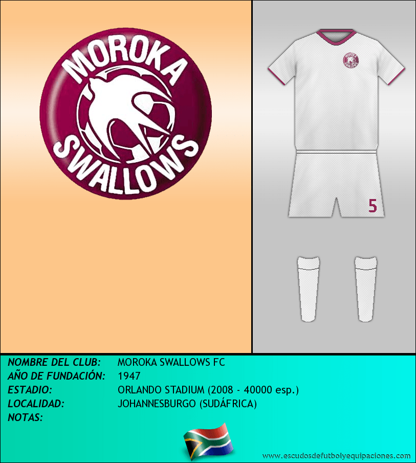 Escudo de MOROKA SWALLOWS FC