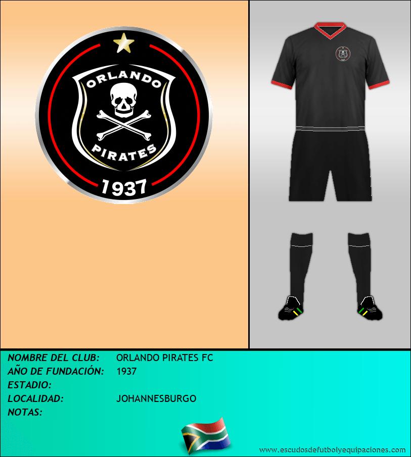 Escudo de ORLANDO PIRATES FC