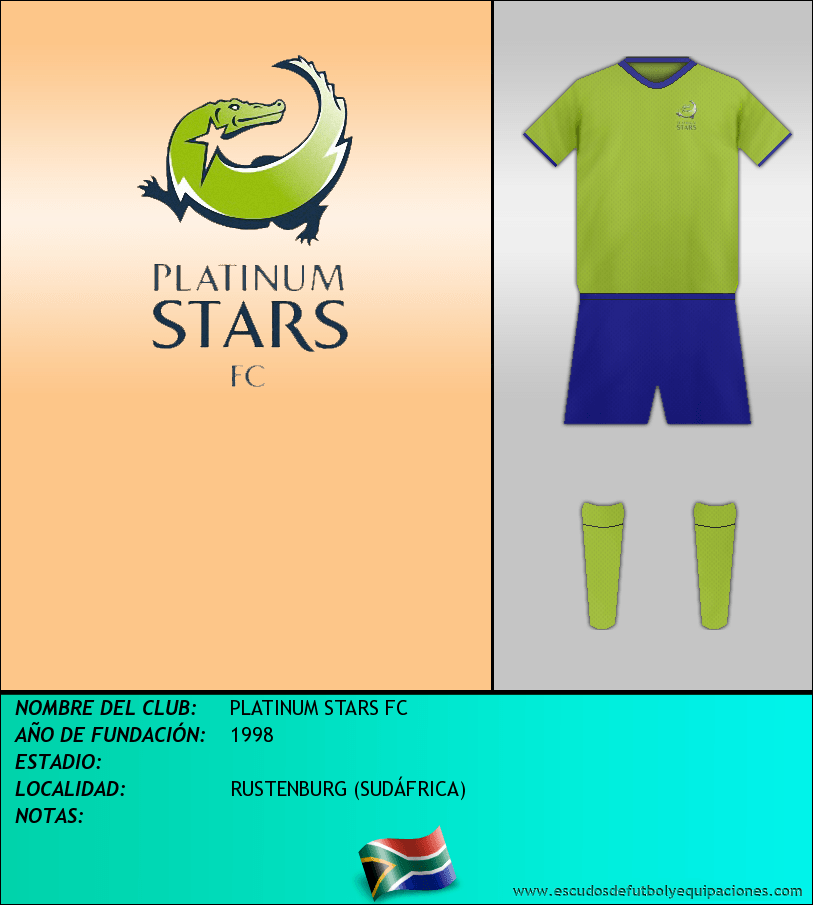 Escudo de PLATINUM STARS FC