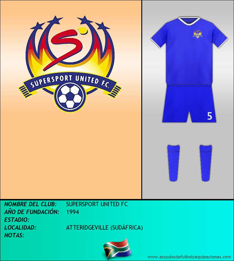 Escudo de SUPERSPORT UNITED FC