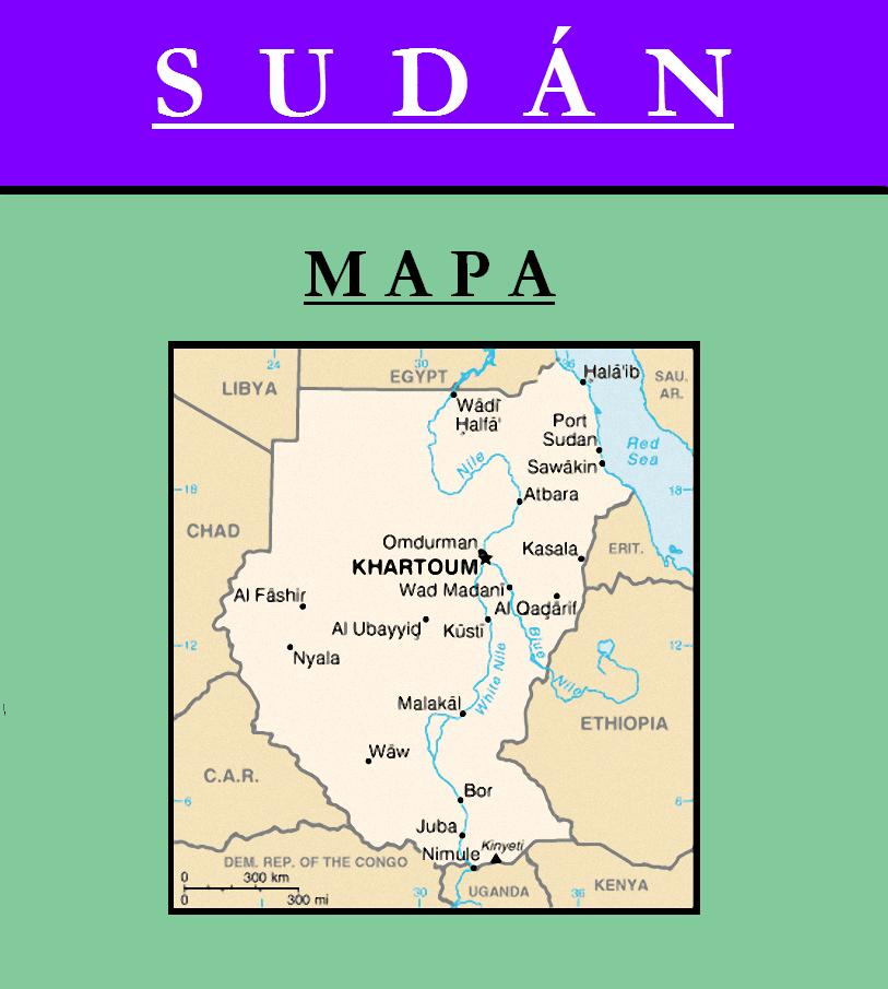 Escudo de MAPA DE SUDÁN