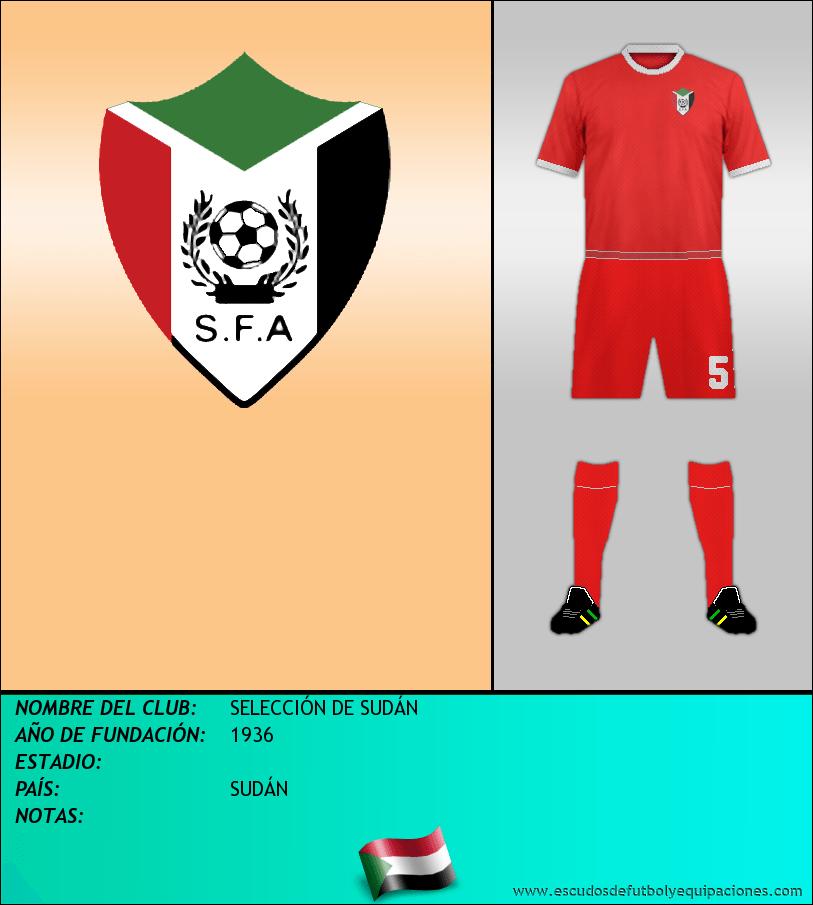 Escudo de SELECCIÓN DE SUDÁN