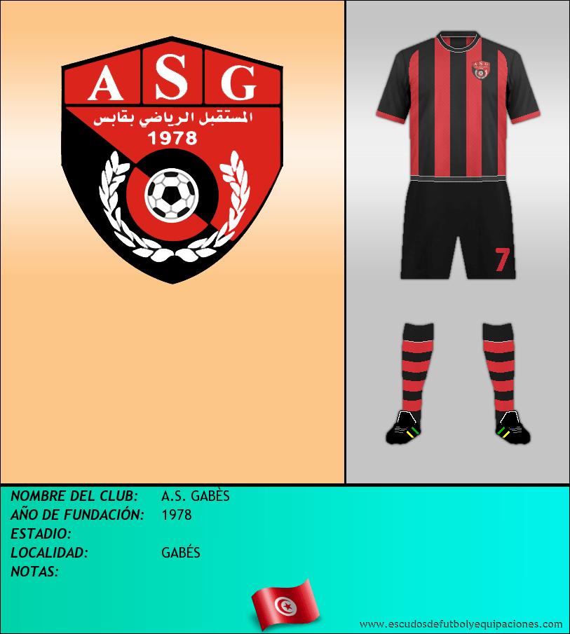 Escudo de A.S. GABÈS