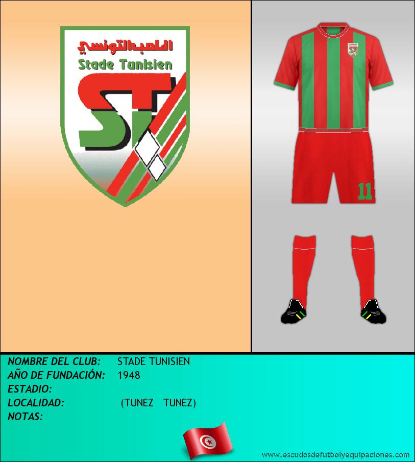 Escudo de STADE TUNISIEN