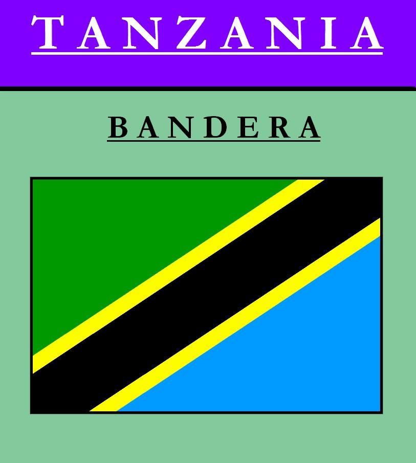 Escudo de BANDERA DE TANZANIA