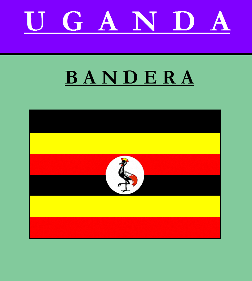 Escudo de BANDERA DE UGANDA