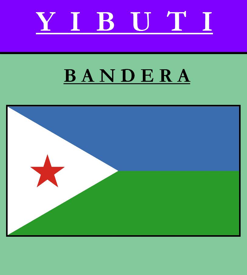 Escudo de BANDERA DE YIBUTI