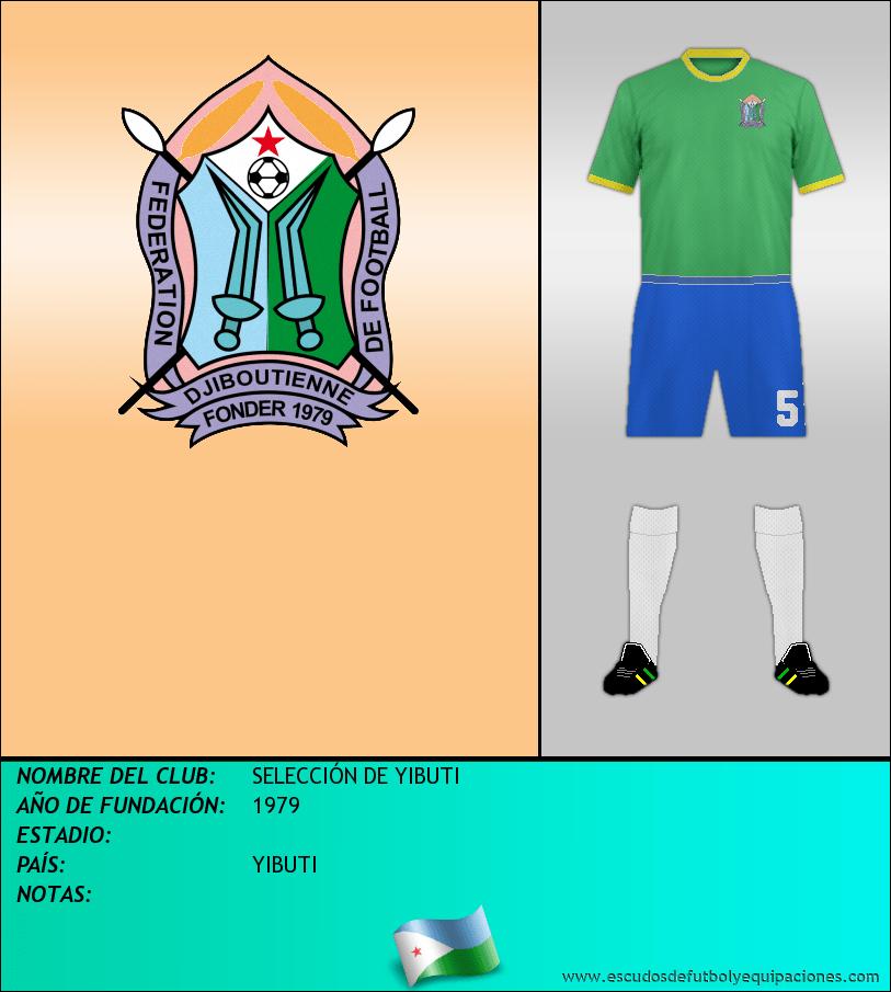 Escudo de SELECCIÓN DE YIBUTI