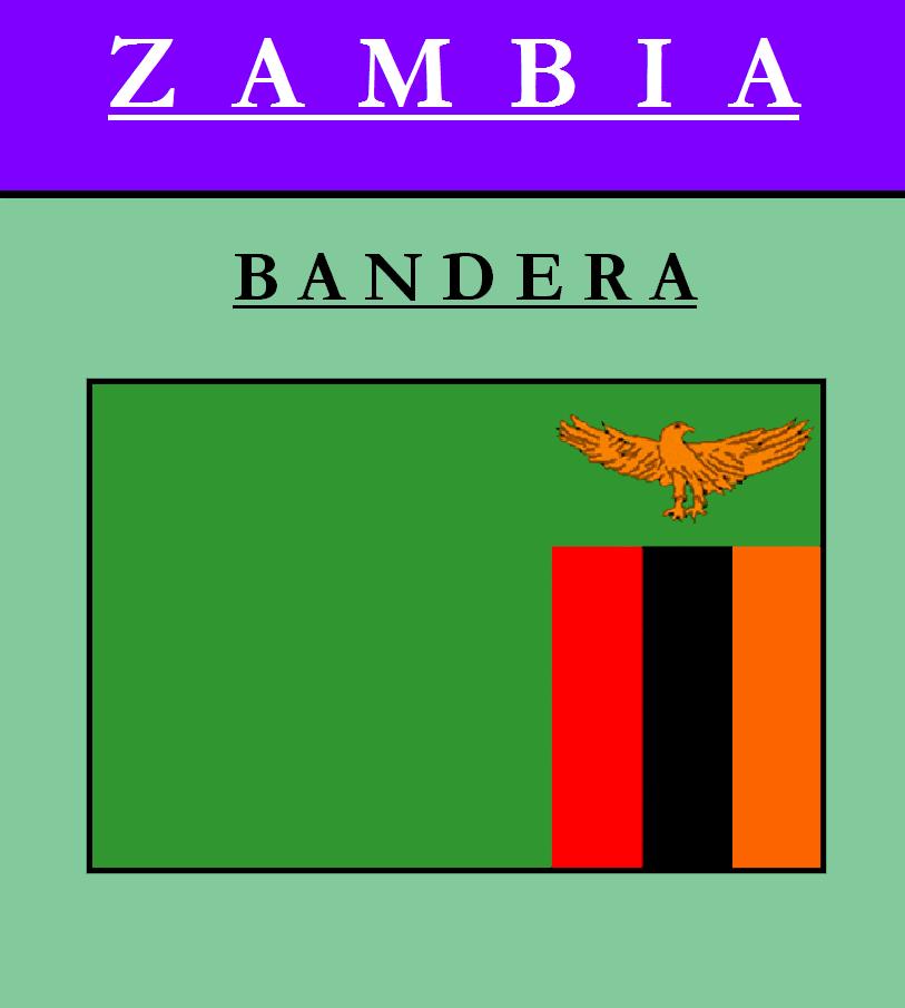 Escudo de BANDERA DE ZAMBIA