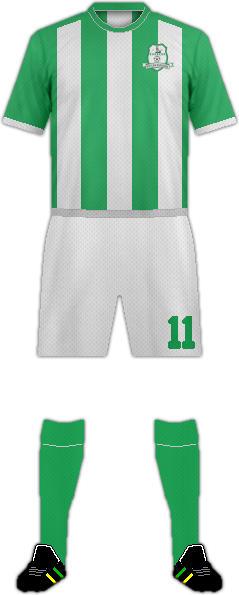 Camiseta MUFULIRA WANDERERS F.C.