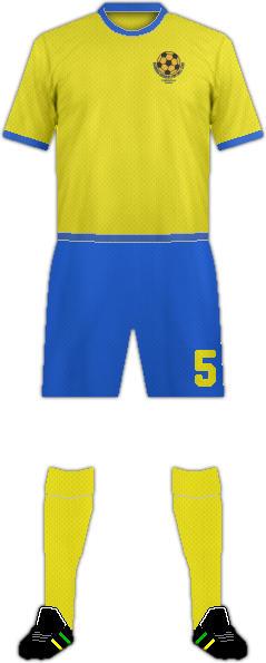 Camiseta NCHANGA RANGERS F.C.