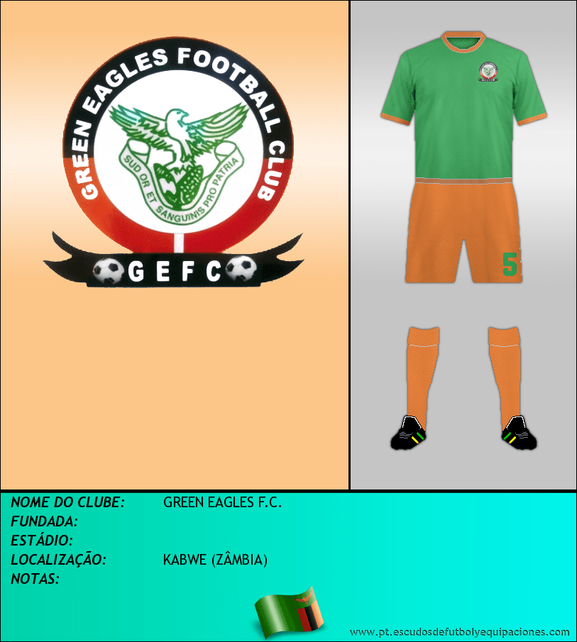 Escudo de GREEN EAGLES F.C.