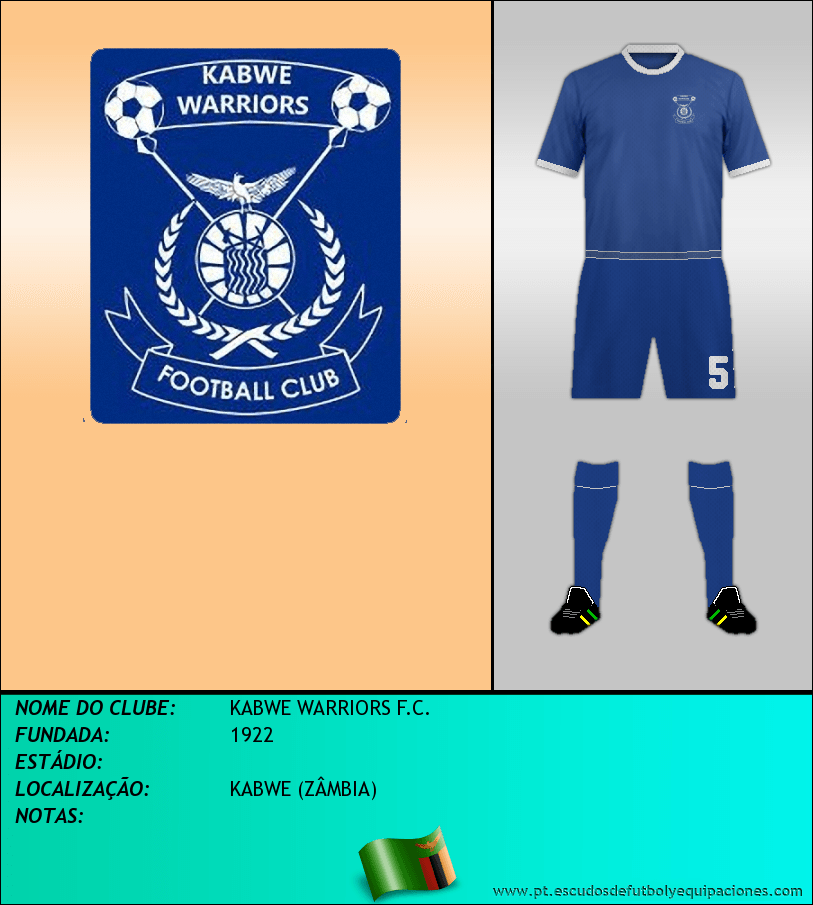 Escudo de KABWE WARRIORS F.C.