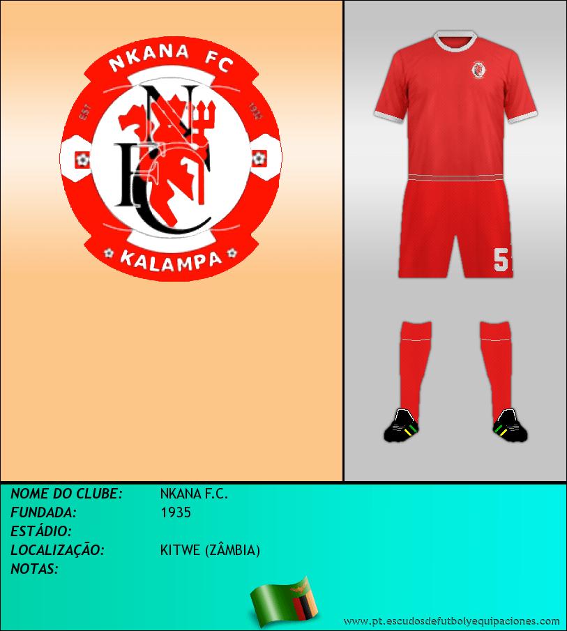Escudo de NKANA F.C.