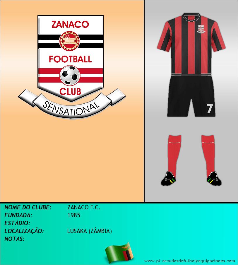 Escudo de ZANACO F.C.