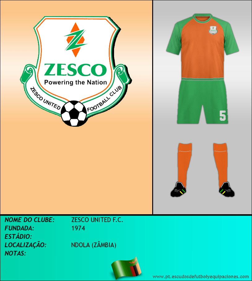 Escudo de ZESCO UNITED F.C.