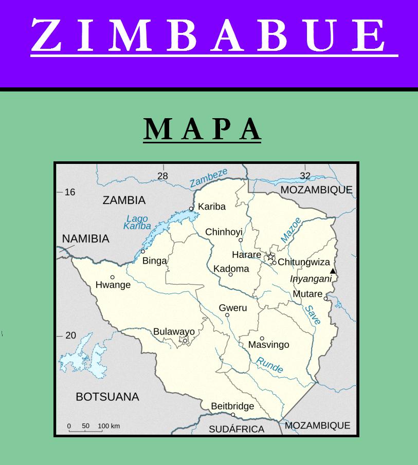 Escudo de MAPA DE ZIMBAWE