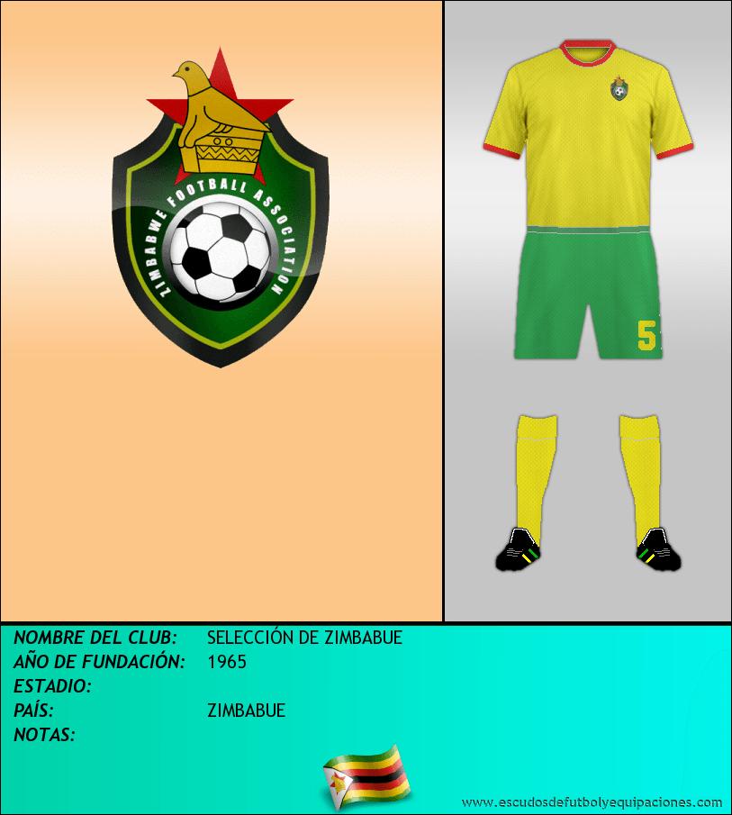 Escudo de SELECCIÓN DE ZIMBABUE