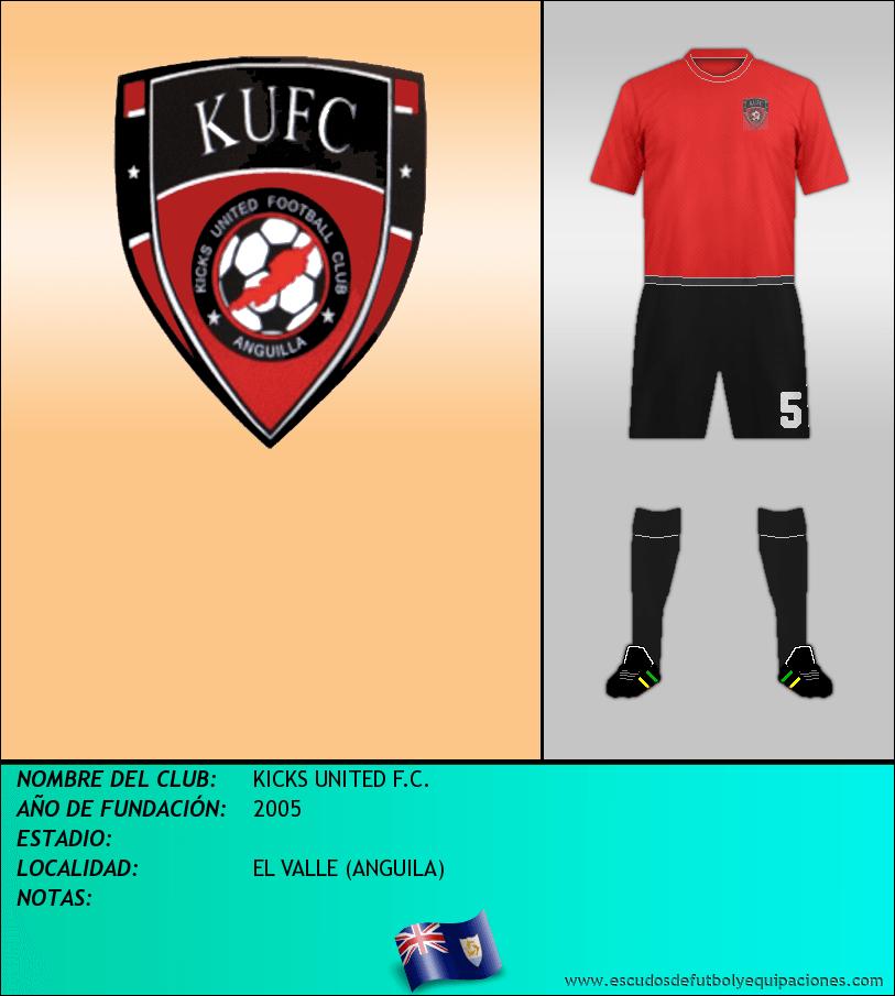 Escudo de KICKS UNITED F.C.