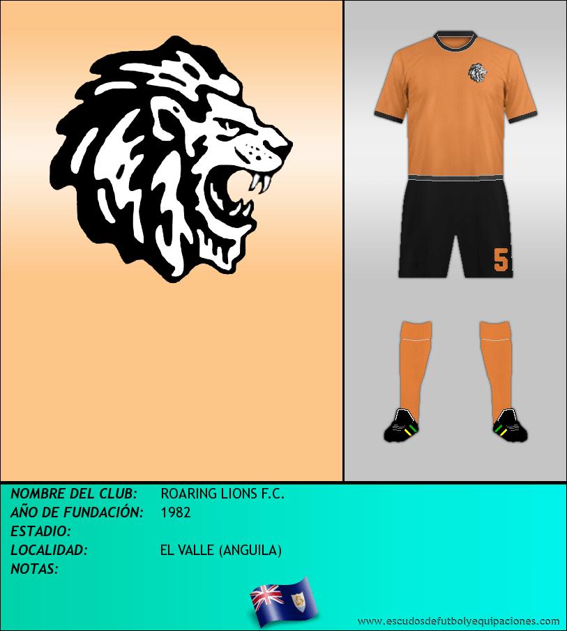 Escudo de ROARING LIONS F.C.