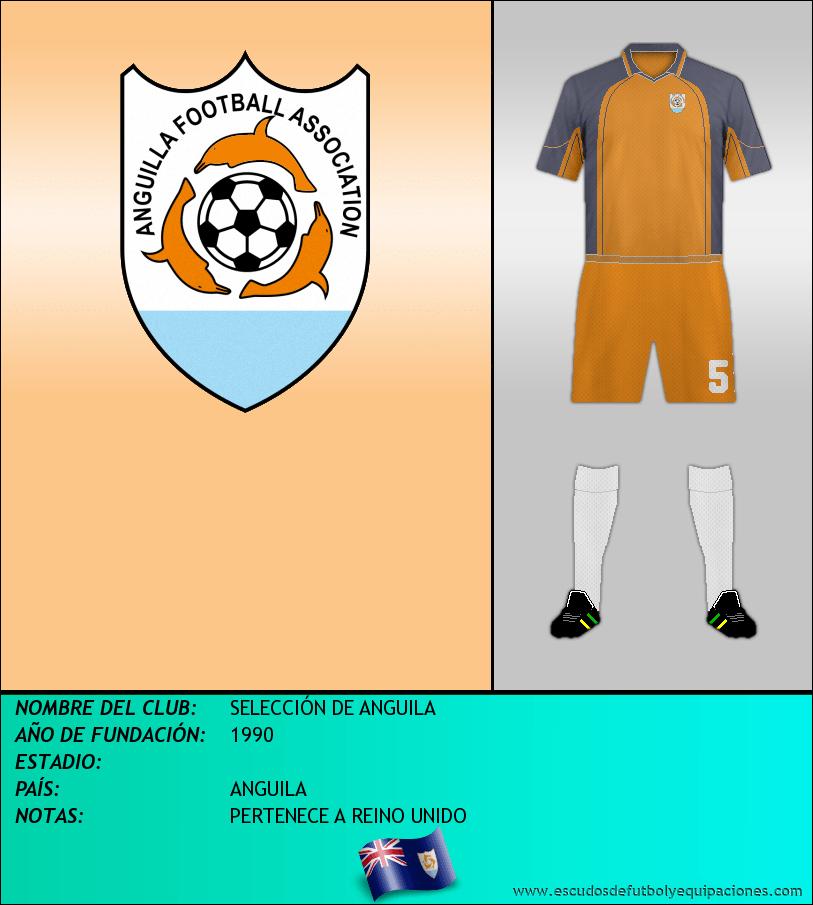 Escudo de SELECCIÓN DE ANGUILA