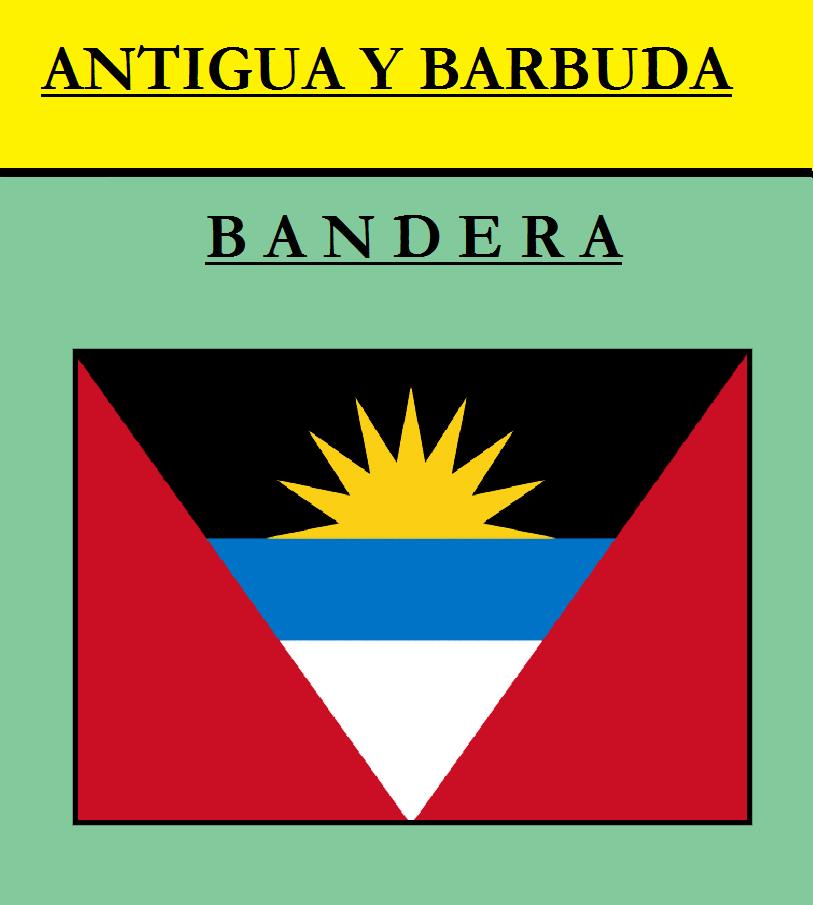 Escudo de BANDERA DE ANTIGUA Y BARBUDA