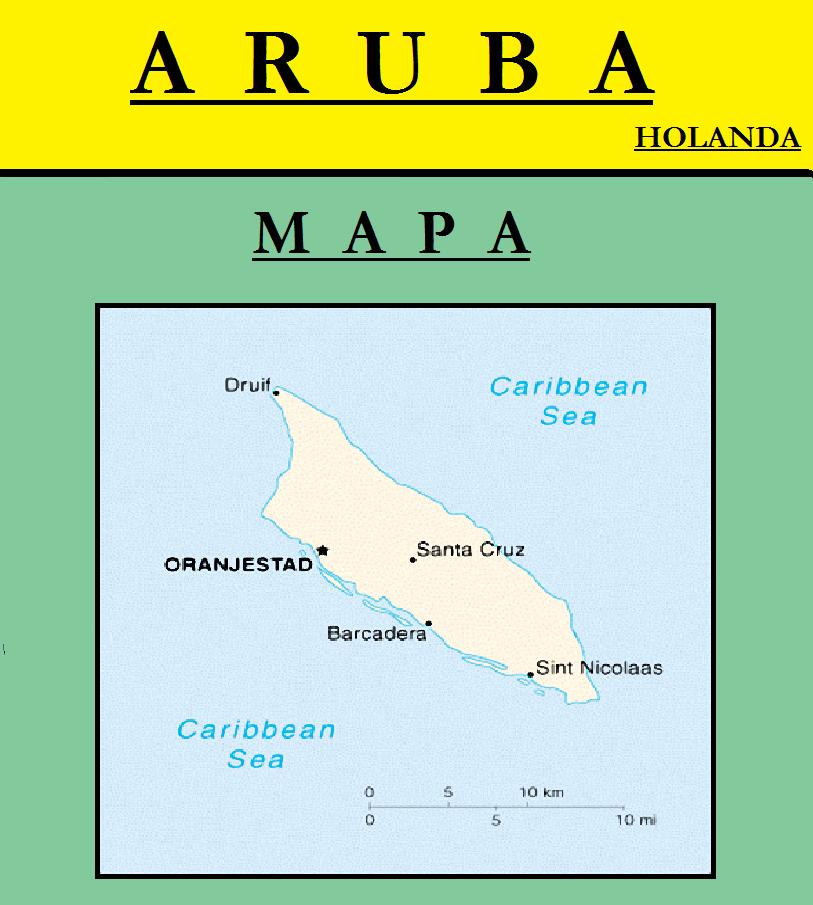 Escudo de MAPA DE ARUBA
