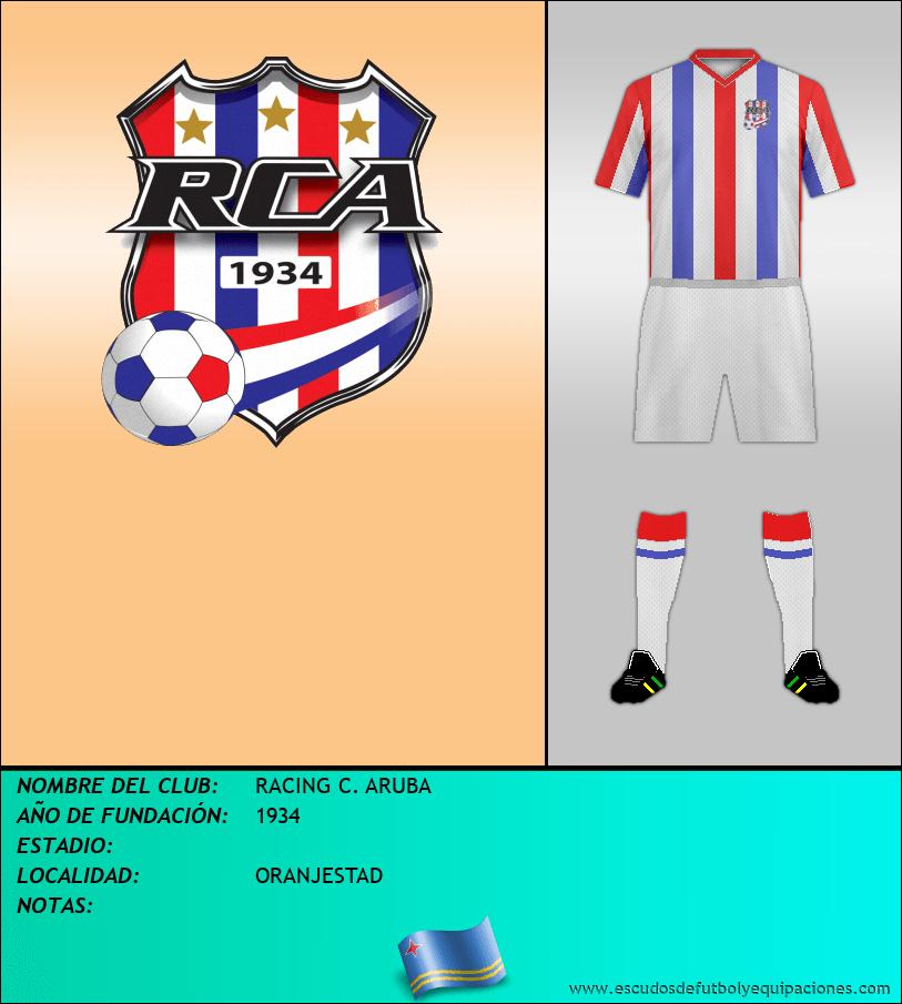 Escudo de RACING C. ARUBA