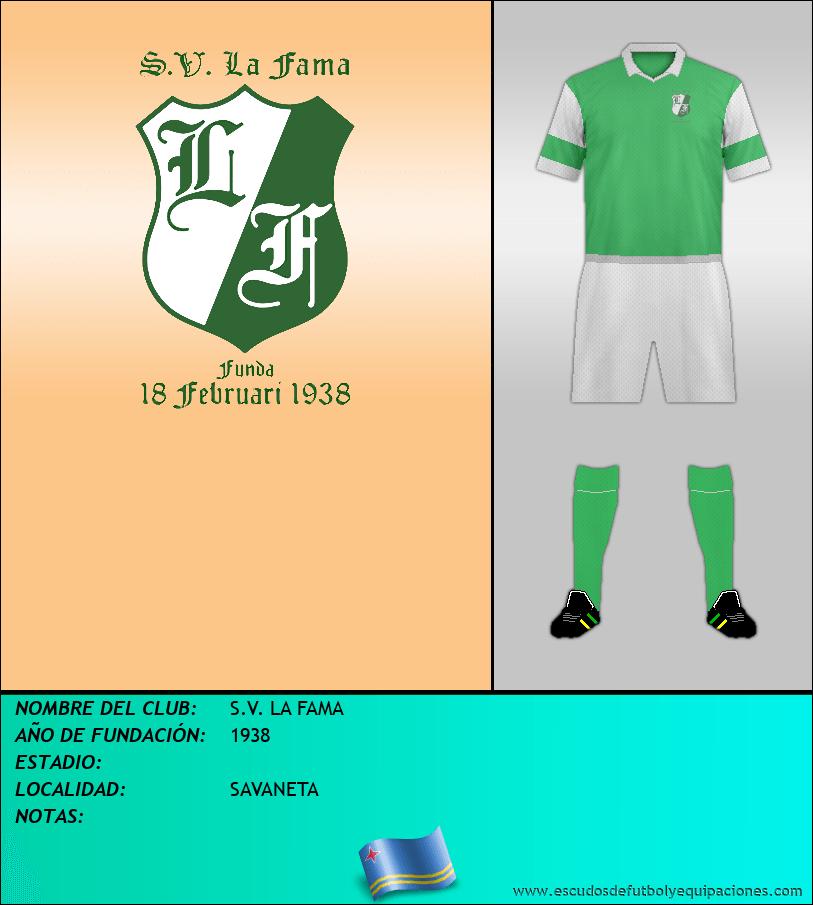 Escudo de S.V. LA FAMA