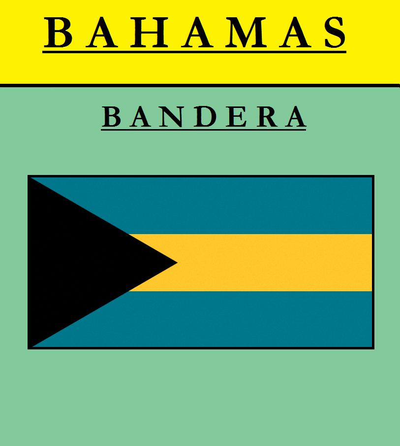 Escudo de BANDERA DE BAHAMAS