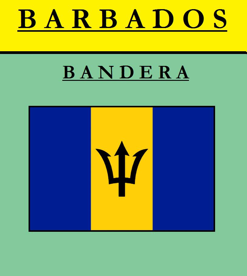 Escudo de BANDERA DE BARBADOS