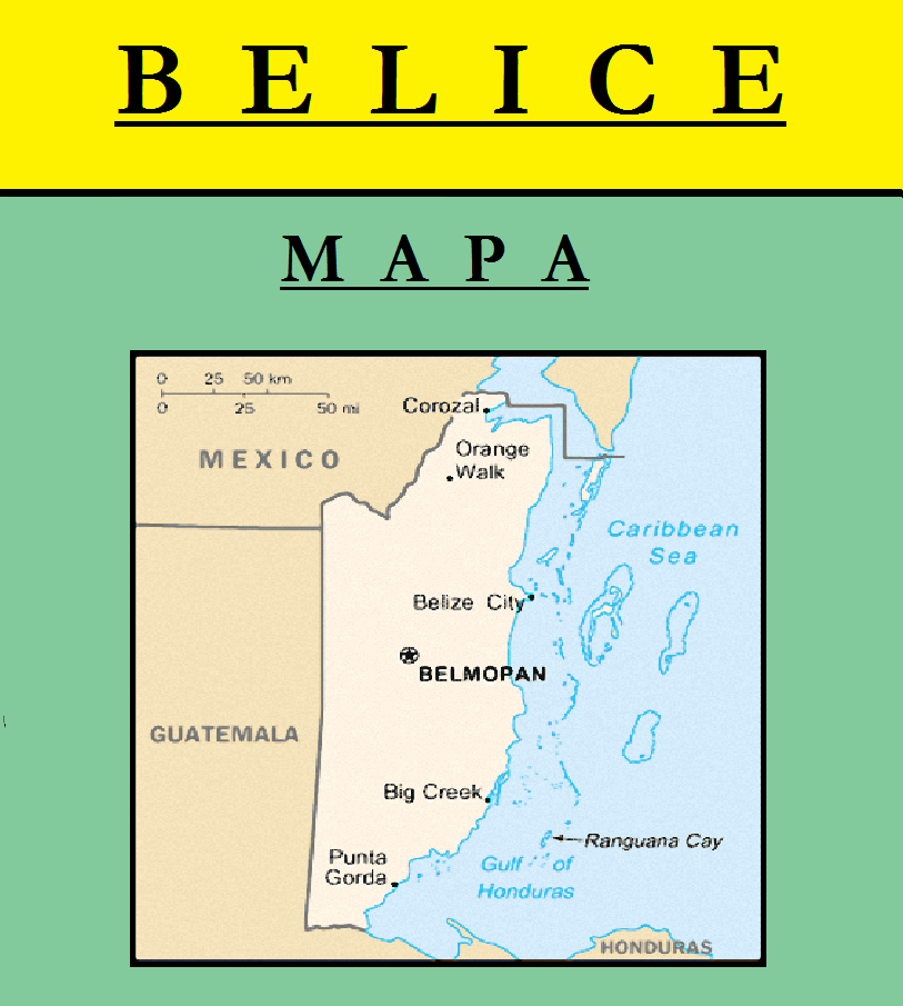 Escudo de MAPA DE BELICE