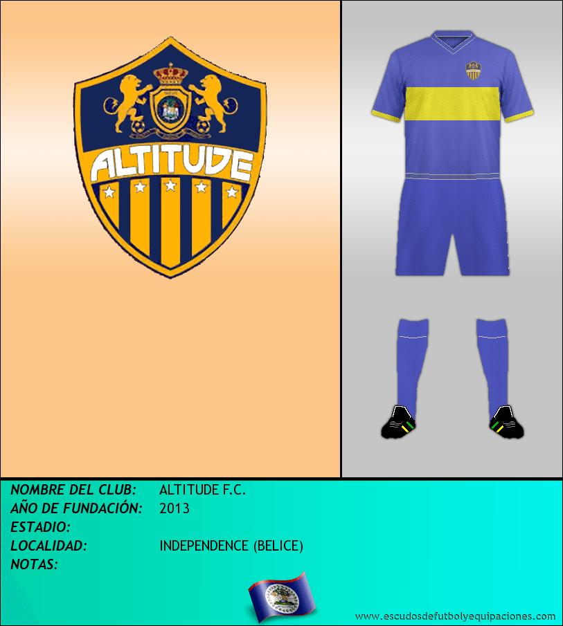 Escudo de ALTITUDE F.C.