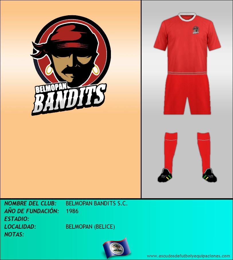 Escudo de BELMOPAN BANDITS S.C.