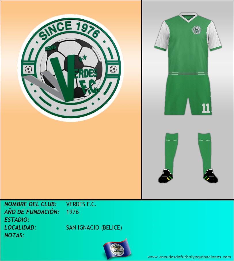 Escudo de VERDES F.C.