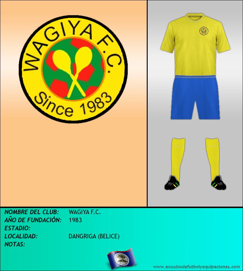 Escudo de WAGIYA F.C.