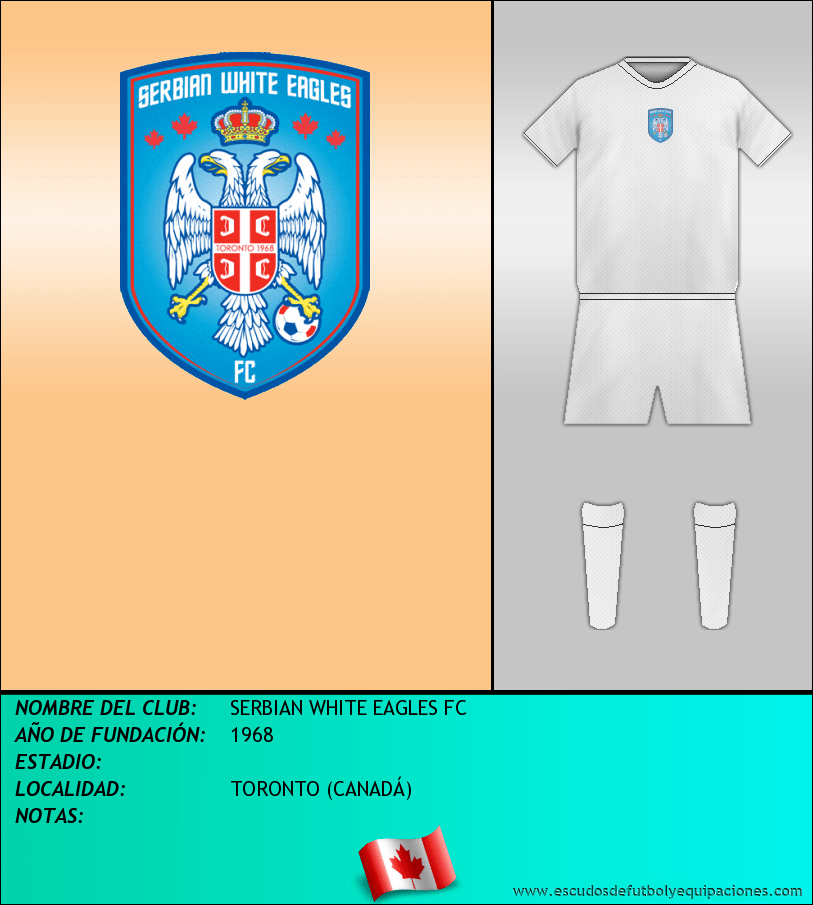Escudo de SERBIAN WHITE EAGLES FC