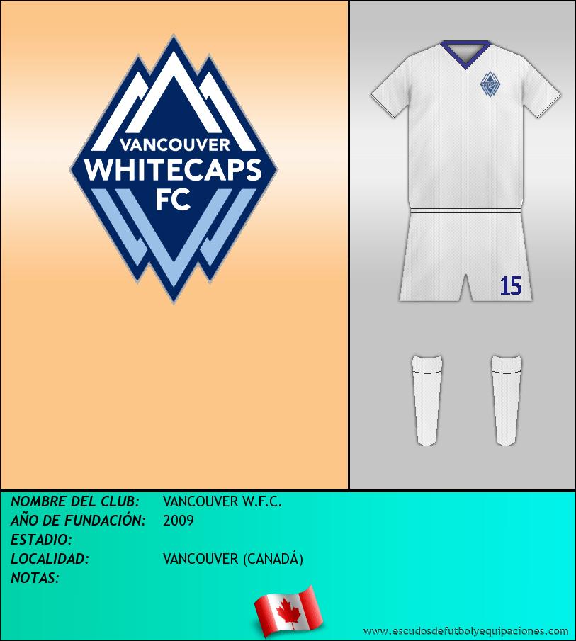 Escudo de VANCOUVER W.F.C.