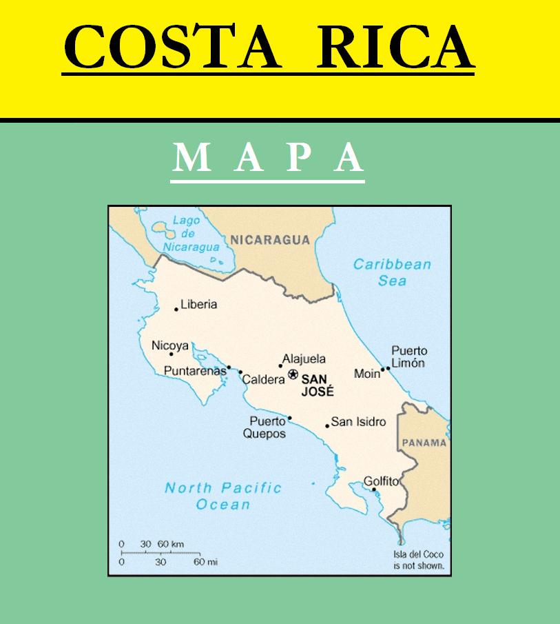 Escudo de MAPA DE COSTA RICA
