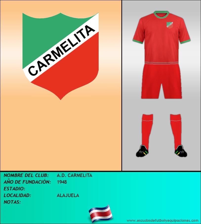 Escudo de A.D. CARMELITA