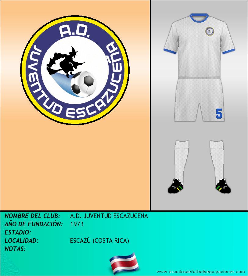 Escudo de A.D. JUVENTUD ESCAZUCEÑA