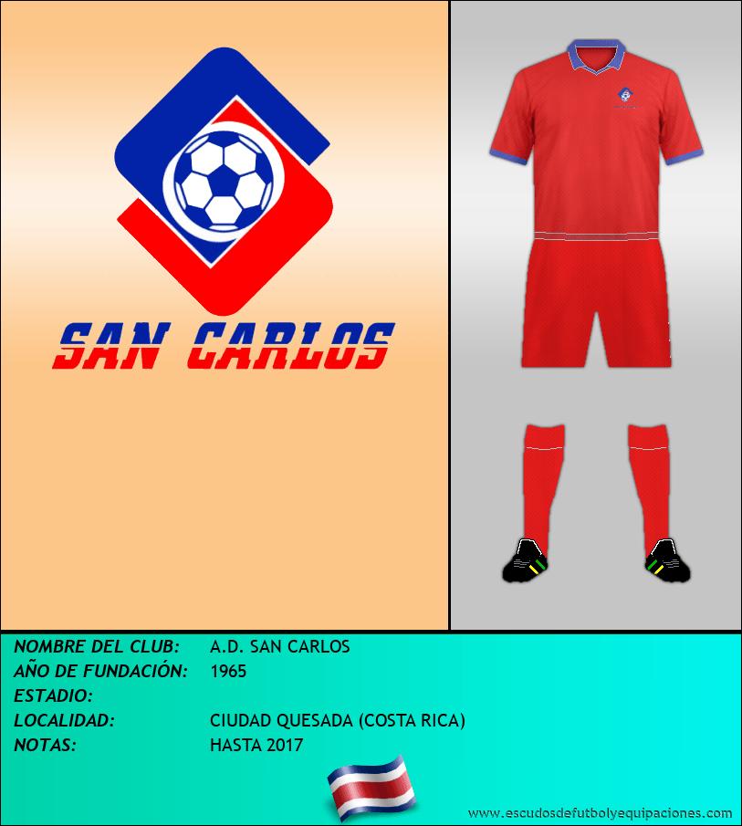 Escudo de A.D. SAN CARLOS