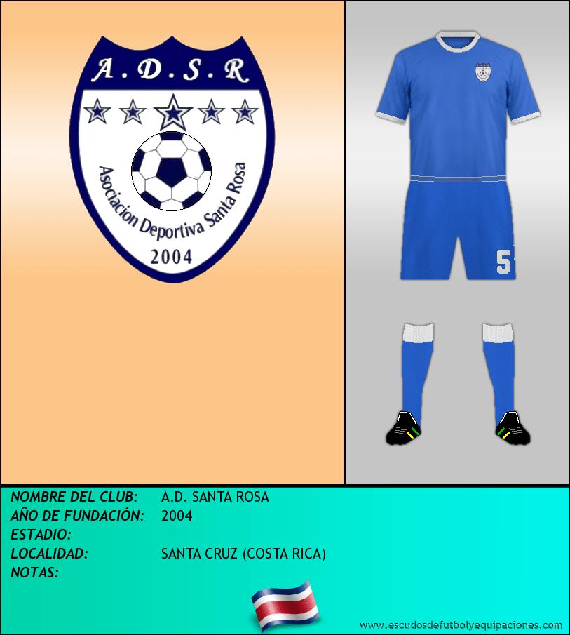 Escudo de A.D. SANTA ROSA