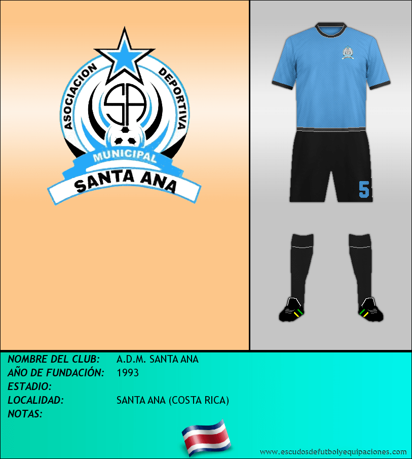 Escudo de A.D.M. SANTA ANA