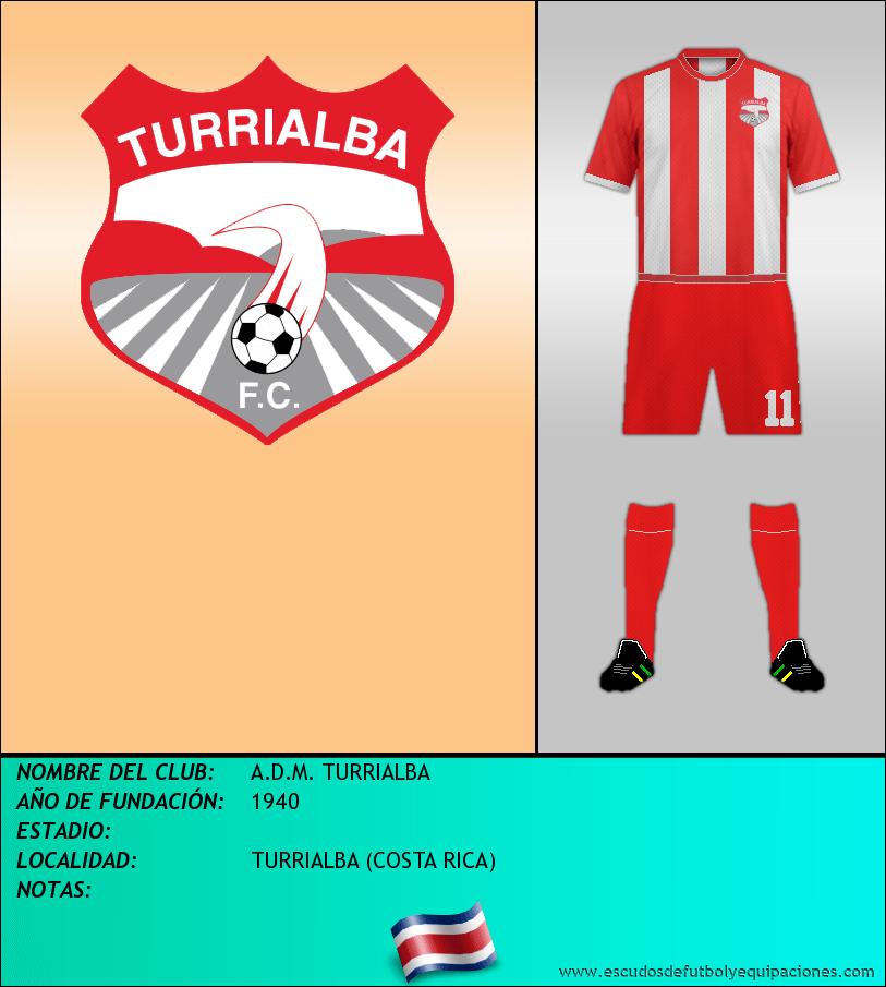 Escudo de A.D.M. TURRIALBA