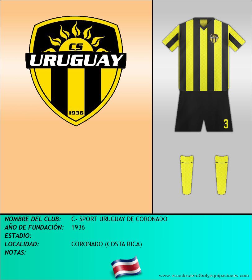 Escudo de C- SPORT URUGUAY DE CORONADO