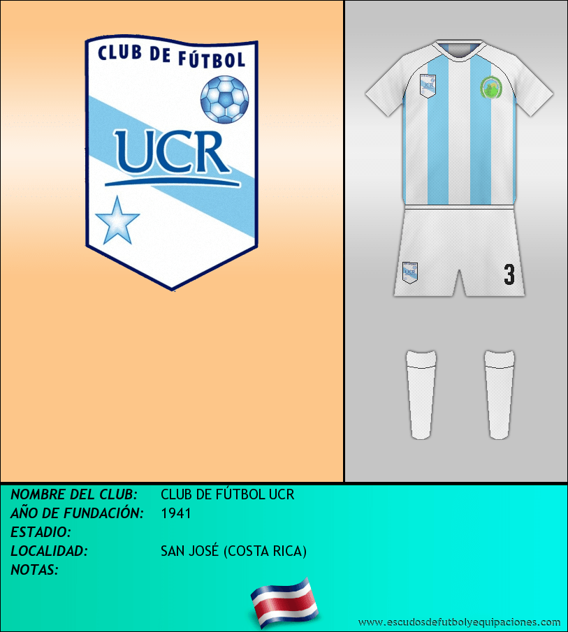 Escudo de CLUB DE FÚTBOL UCR