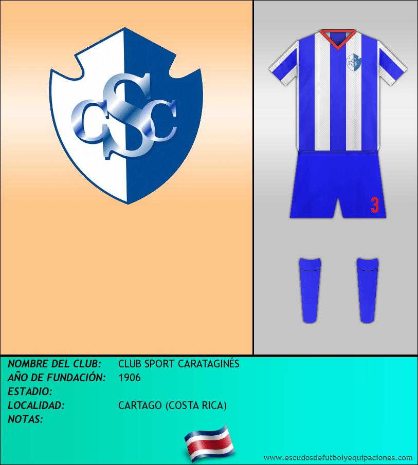 Escudo de CLUB SPORT CARATAGINÉS